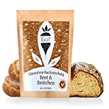Ruut Glutenfreie Brotbackmischung mit Maniokmehl / Weizenersatz Backmischung für Brot und Brötchen...
